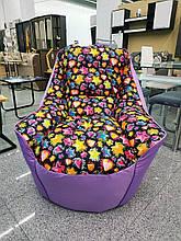 Кресло Мешок Президент Босс BOSS (ткань Оксфорд+принт)