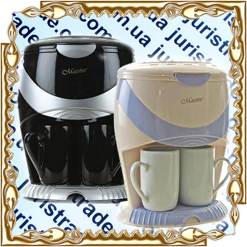 Кофеварка Maestro Black (MR-402) 600 Вт.