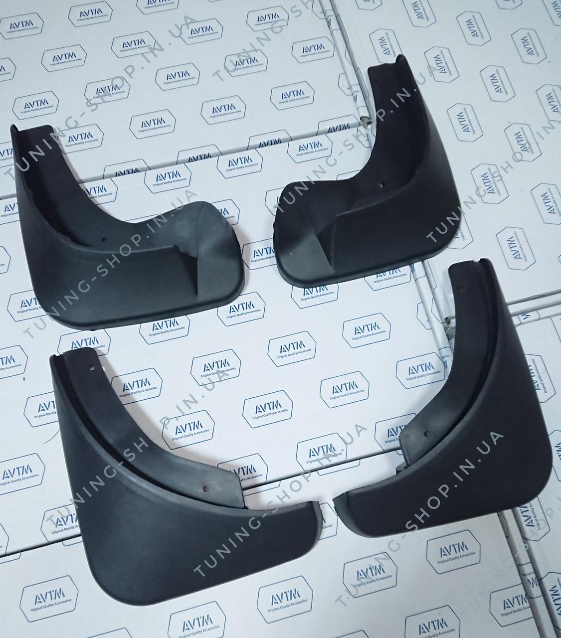 Брызговики Skoda Fabia 2007-2014 хэтчбек ( комплект 4 шт ), AVTM