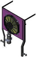 Конденсатор кондиціонера для трактора МТЗ (вузький капот)