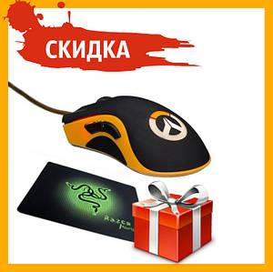 Мышка компютерная Razer DeathAdder Chroma Цвет Чёрно-Жёлтый