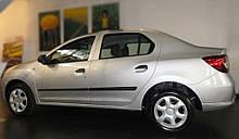 Молдинги на двери для Dacia Renault Logan II 4DR 2012-2020