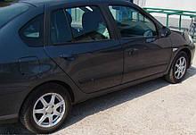 Молдинги на двері для Renault Symbol II / Thalia II 2008-2013