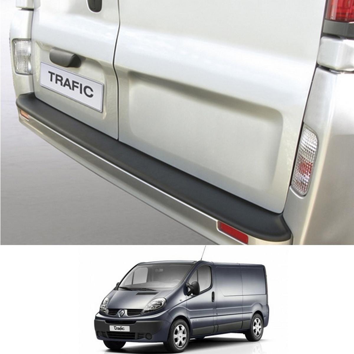 Пластиковая защитная накладка на задний бампер для Renault Trafic 2006-2014