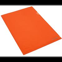 Папка-уголок А4 Economix 180 мкм фактура глянец красная