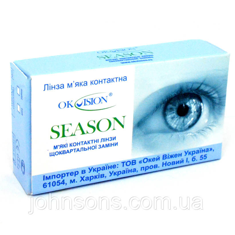 Контактные линзы Okvision Season (1 штука)
