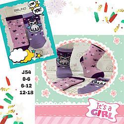 Детские демисезонные носочки для девочек  ( мин. заказ 12 шт.в уп.) 12-18 месяцев