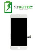 Дисплей (LCD) iPhone 8 Plus с сенсором белый оригинал (переклейка)