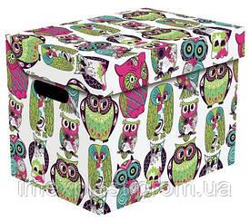 """Декоративная картонная коробка для хранения вещей 35х26х21см - (Польша) TM """"Jagello"""""""
