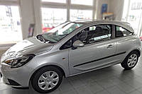 Молдинги на двери Opel Corsa E 3 Door 2014>