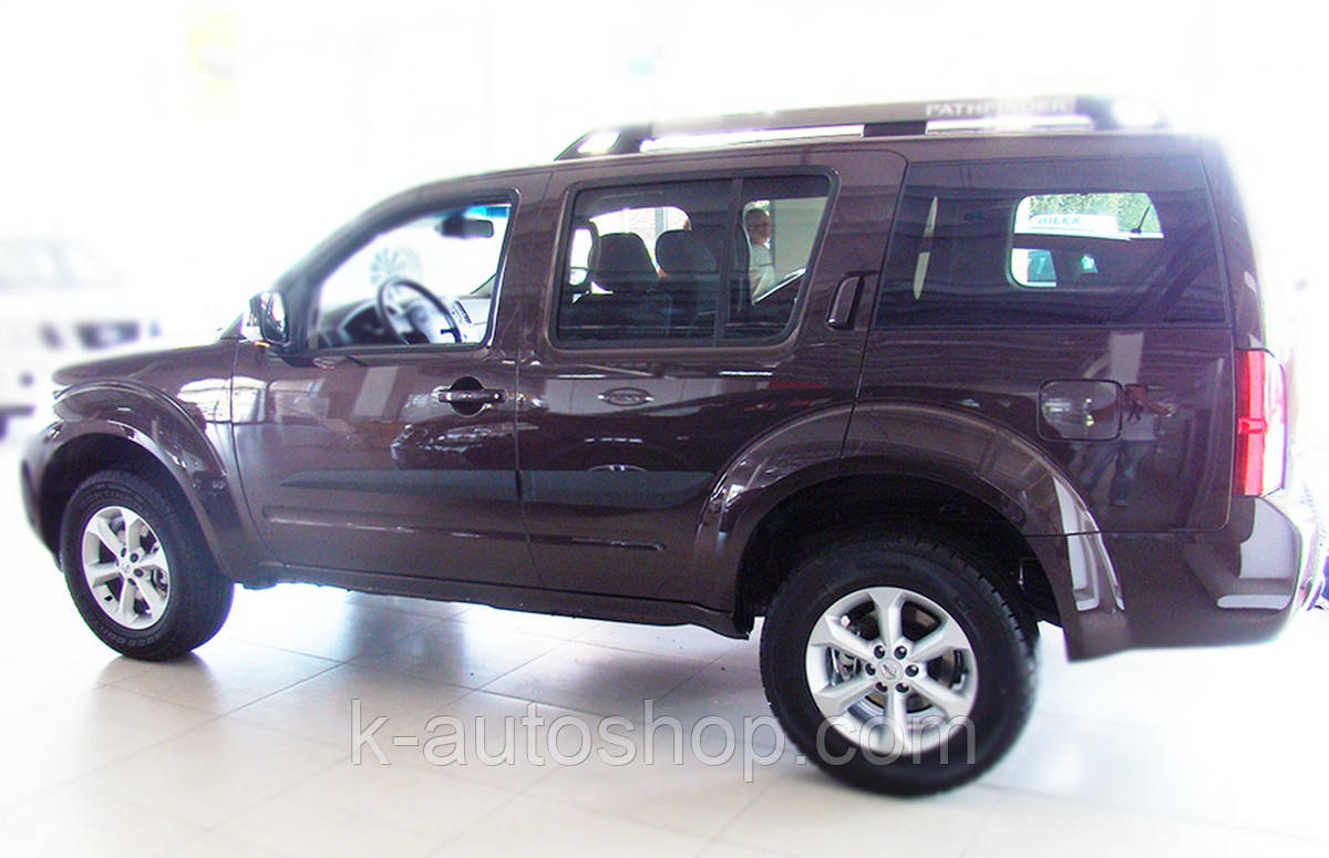 Молдинги на двери Nissan Pathfinder R51 2005-2012