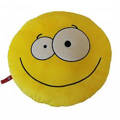 Мягкая игрушка Подушка Смайлик 35 см. Оригинал Fancy ПСМ1V