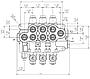 Гідророзподільник Akon AMV 702 (5007538000), фото 2