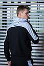 Мужской спортивный костюм  черный-белый Spirited Intruder + Подарок, фото 4