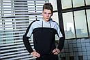 Мужской спортивный костюм  черный-белый Spirited Intruder + Подарок, фото 5