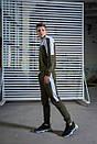 Мужской спортивный костюм  хаки-белый Spirited Intruder + Подарок, фото 2