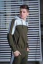 Мужской спортивный костюм  хаки-белый Spirited Intruder + Подарок, фото 4