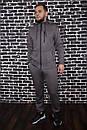 Спортивный костюм Spirited Hot Intruder серый - утепленный флисом + Подарок, фото 4