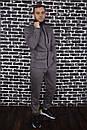 Спортивный костюм Spirited Hot Intruder серый - утепленный флисом + Подарок, фото 5
