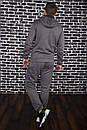 Спортивный костюм Spirited Hot Intruder серый - утепленный флисом + Подарок, фото 6