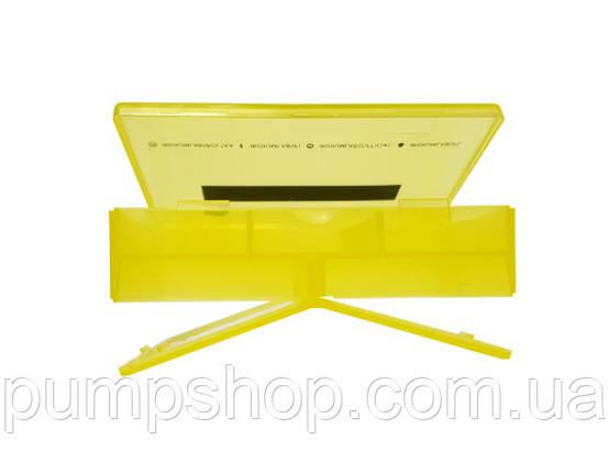 Таблетница Iridium Labs Pillbox жовта, фото 2