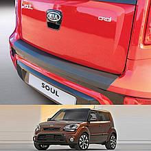 Пластикова захисна накладка на задній бампер для KIA Soul LIFT 2011-2014