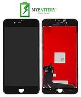 Дисплей (LCD) iPhone 8 Plus с сенсором черный оригинал (переклейка)