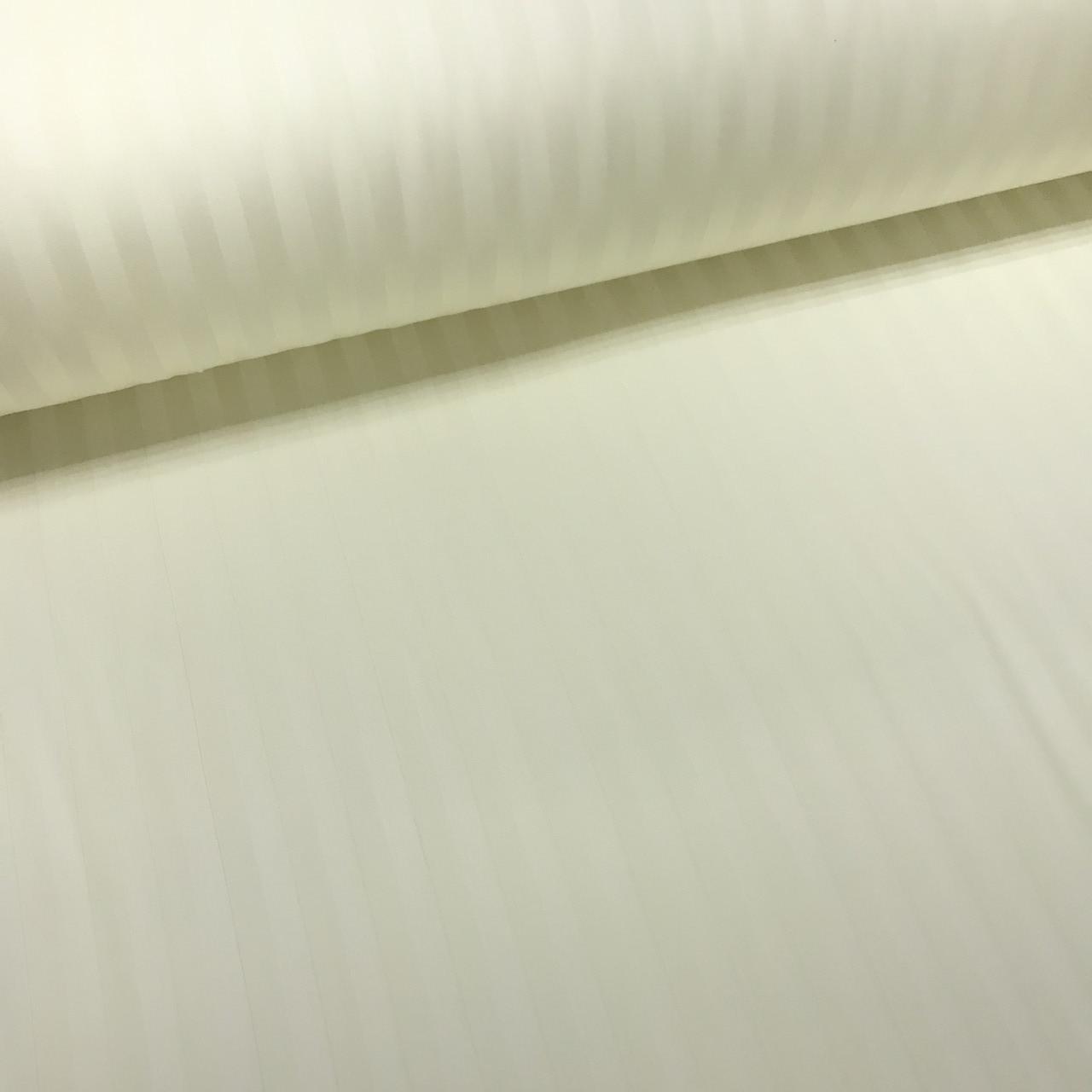 Сатин 100% хлопок  (ТУРЦИЯ шир. 2,4 м) Stripes цвет бледно-желтый