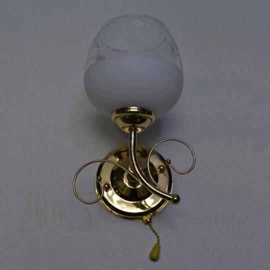 Бра,1 лампа, золото