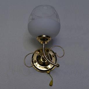 Бра,1 лампа, золото, фото 2