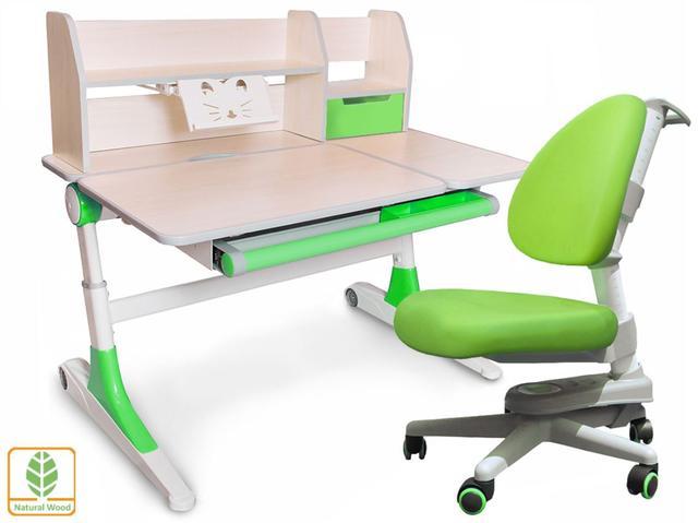Комплект Evo-Kids кресло Ergotech, парта Ontario с полкой