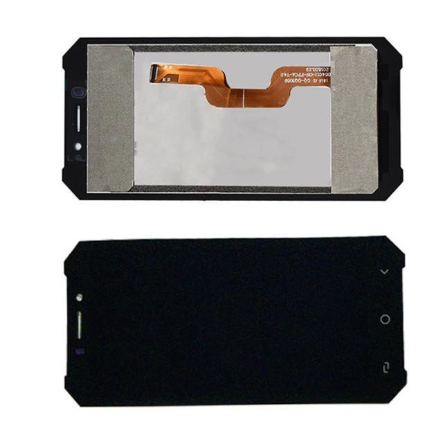 Дисплей модуль для Ulefone Armor X в зборі з тачскріном, чорний