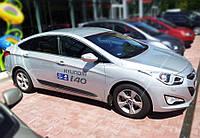 Молдинги на двери Hyundai i40 sedan 2012>