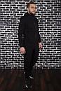 Спортивный костюм Spirited Hot Intruder черный - утепленный флисом + Подарок, фото 2