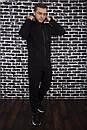 Спортивный костюм Spirited Hot Intruder черный - утепленный флисом + Подарок, фото 3