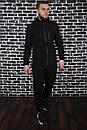 Спортивный костюм Spirited Hot Intruder черный - утепленный флисом + Подарок, фото 4