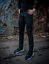 Теплые штаны карго черные Conqueror Intruder + подарок, фото 3