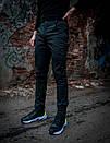 Теплые штаны карго черные Conqueror Intruder + подарок, фото 4