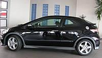 Молдинги на двери Honda Civiс 3 Dr 2006-2011