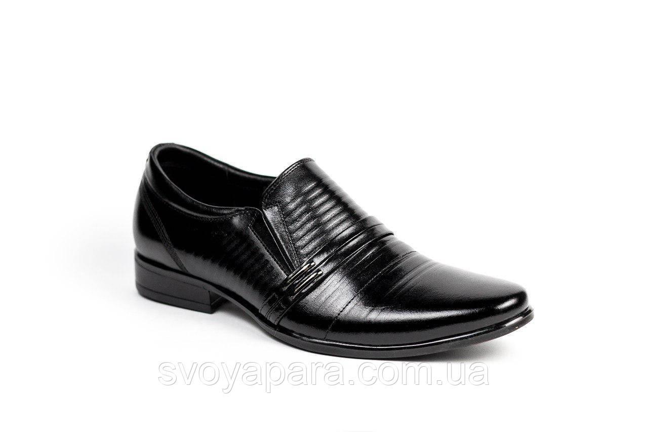 Класичні туфлі Nord чорні