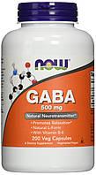 ГАБА Now Foods - GABA 500 мг (200 капсул)