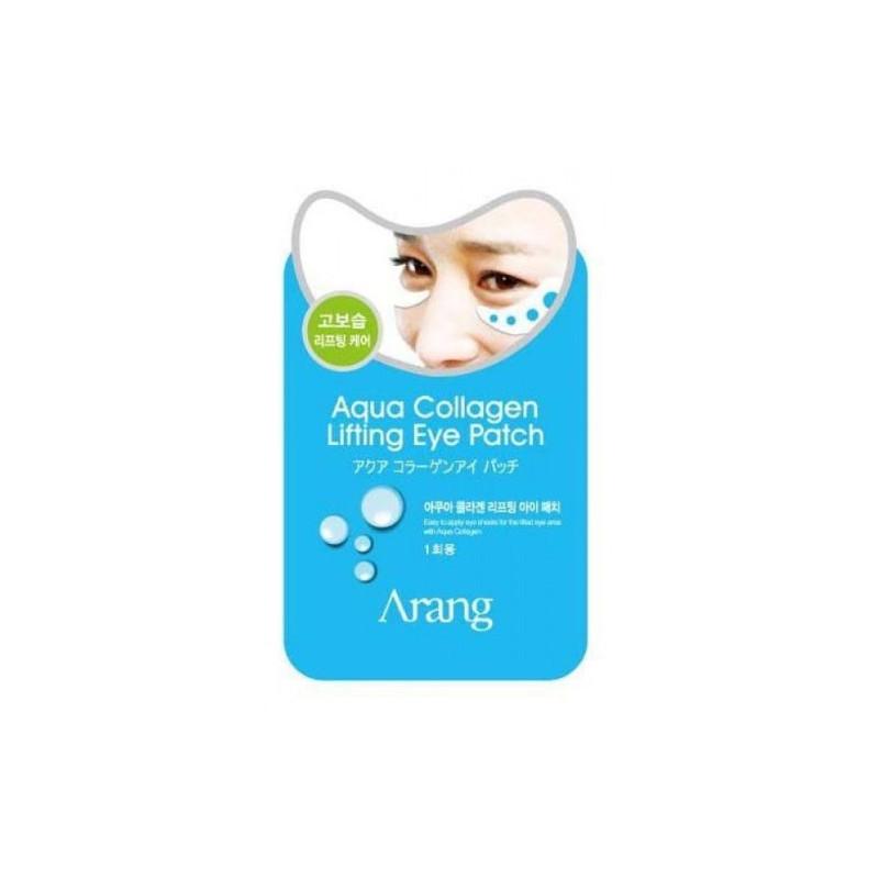 Патчи под глаза с морским коллагеном подтягивающая Arang Aqua Collagen Lifting Eye Patch 5г (8809295017685)