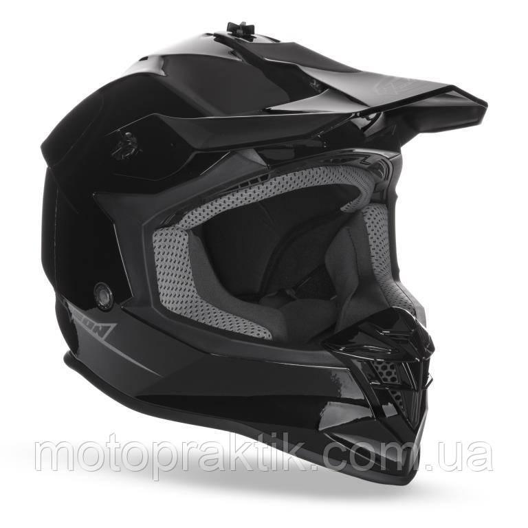 Мотошлем Кросс GEON 633 MX Black, XS (53-54)