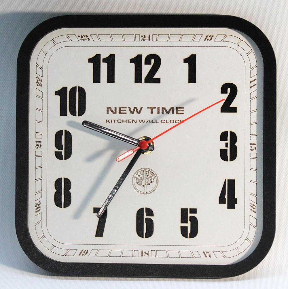 Настенные часы Декор Карпаты Loft UGT 099 Черный (CAwL73295)