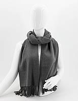 ШАРФ женский M&JJ МОНТАЛЬ Темно-серый 190х70 см (8568)