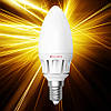 Светодиодная лампа ELECTRUM C37 6W Е14 AL LС-16