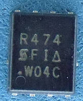 Транзистор полевой N-каналVishay SIR474DP-T1-GE3 PowerPac QFN-8/SO-8