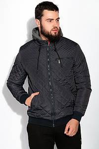 Куртка 120PELK432 (Темно-синий/серый)