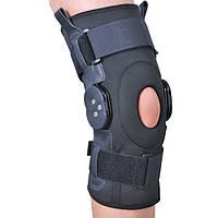 Ортез на коленный сустав со специальными шарнирами для регулировки угла сгибания ES-797. Розміри: S,