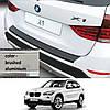 Пластиковая защитная накладка на задний бампер для BMW X1 E84 2012-2015